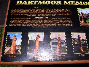 Dartmoor - Victoria - Tree Carving Information