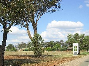 Burley Griffin Way - Entrance to Temora NSW